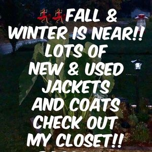 NWT 3 Sisters and more jackets.
